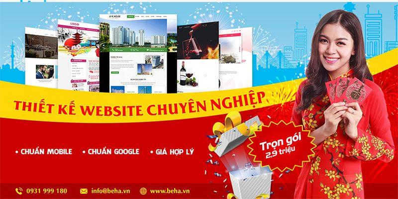 Công ty thiết kế website BeHa