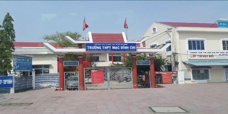 Trường THPT Mạc Đĩnh Chi