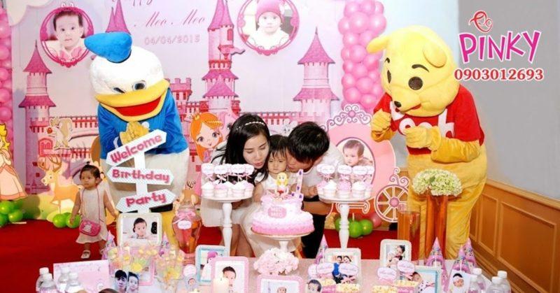 Dịch vụ trang trí sinh nhật Pinky