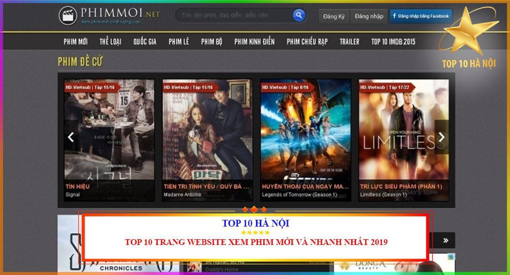 TOP 10 TRANG WEB XEM PHIM TRỰC TUYẾN TỐT NHẤT
