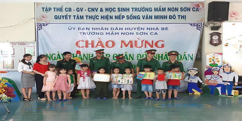 Trường mầm non Sơn Ca huyện Nhà Bè