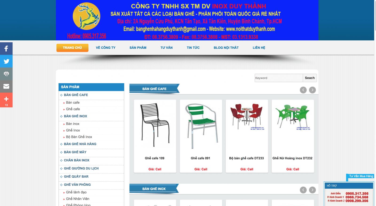 Công ty TNHH SX TM Duy Thành