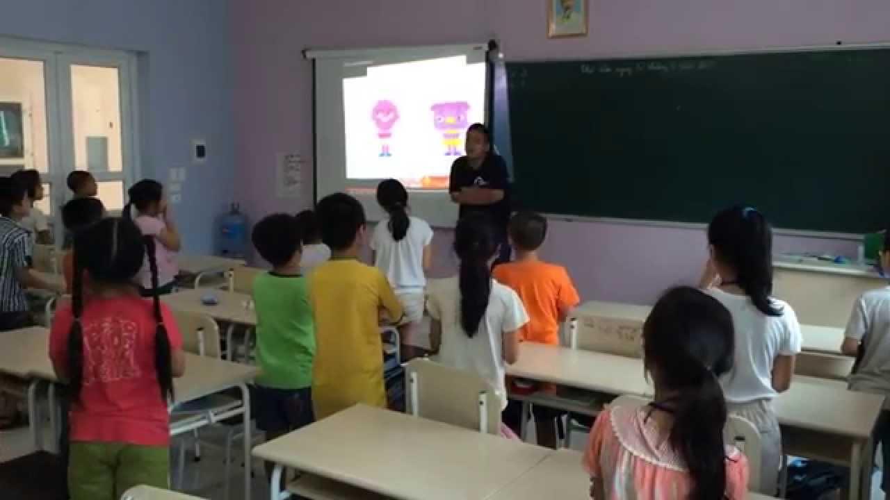 Mở lớp dạy tiếng Anh