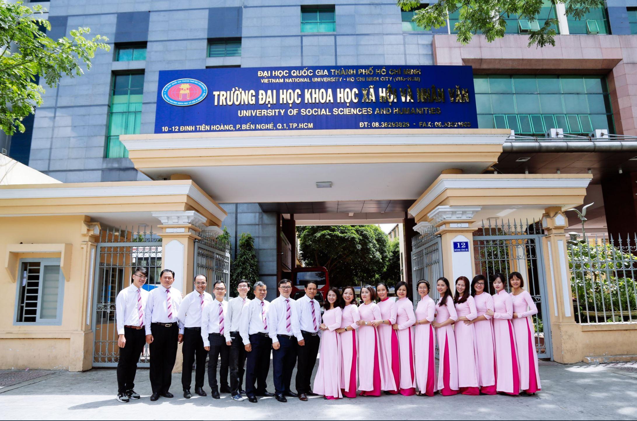 Trường Đại học Khoa học xã hội và nhân văn - Đại học Quốc gia TP Hồ Chí Minh  Thành lập vào