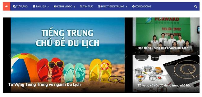 "TOP 10 WEBSITE HỌC TIẾNG TRUNG TRỰC TUYẾN ""HOT"" NHẤT"