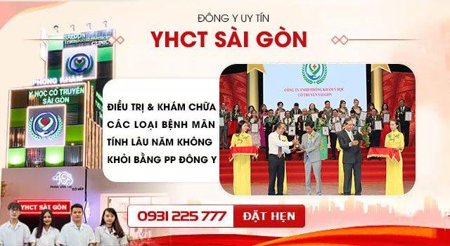 Phòng khám y học cổ truyền Sài Gòn không ngừng nâng cao chất lượng dịch vụ