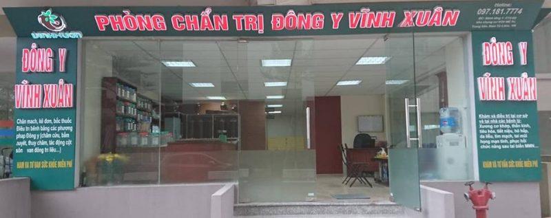 Phòng chẩn trị Đông y Vĩnh Xuân