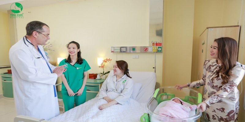 Kinh nghiệm đẻ ở bệnh viện Thu Cúc kèm bảng giá sinh thường, mổ