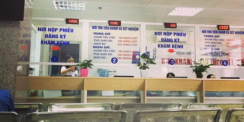 Hướng dẫn khám chữa bệnh tại Bệnh viện Da liễu Trung Ương