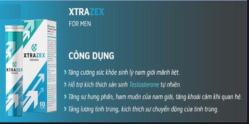 Công dụng Xtrazex