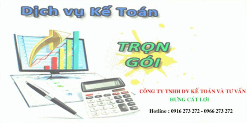 Công ty Dịch vụ kế toán - Đại lý thuế HƯNG CÁT LỢI