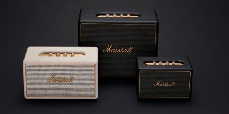 Các sản phẩm loa di động Marshall