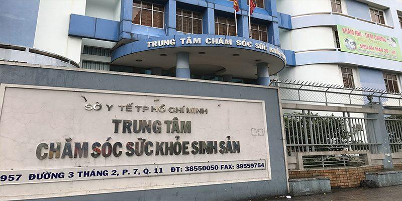 Trung tâm Chăm sóc Sức khỏe sinh sản TP.HCM