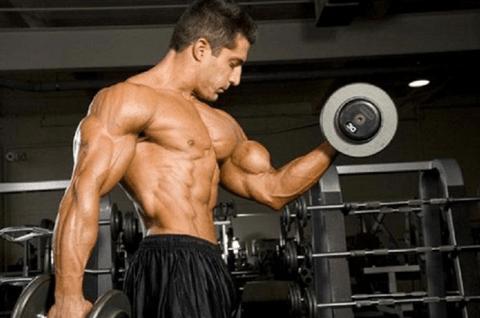 cách tập cơ tay cho nam