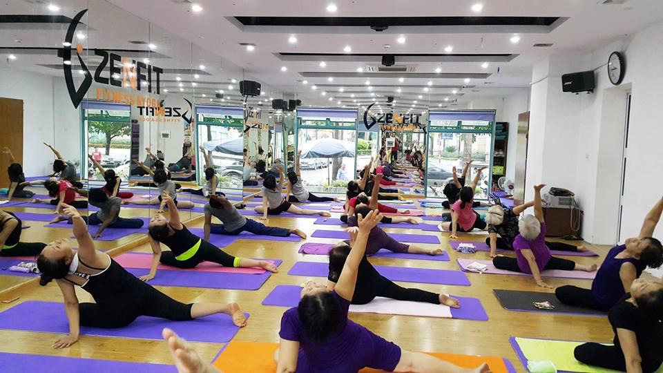 Zenfit Fitness & Yoga – Mễ Trì: