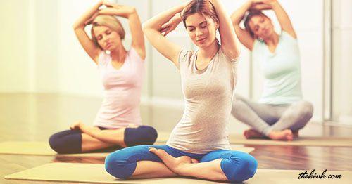 Yoga giúp cơ thể thon gọn