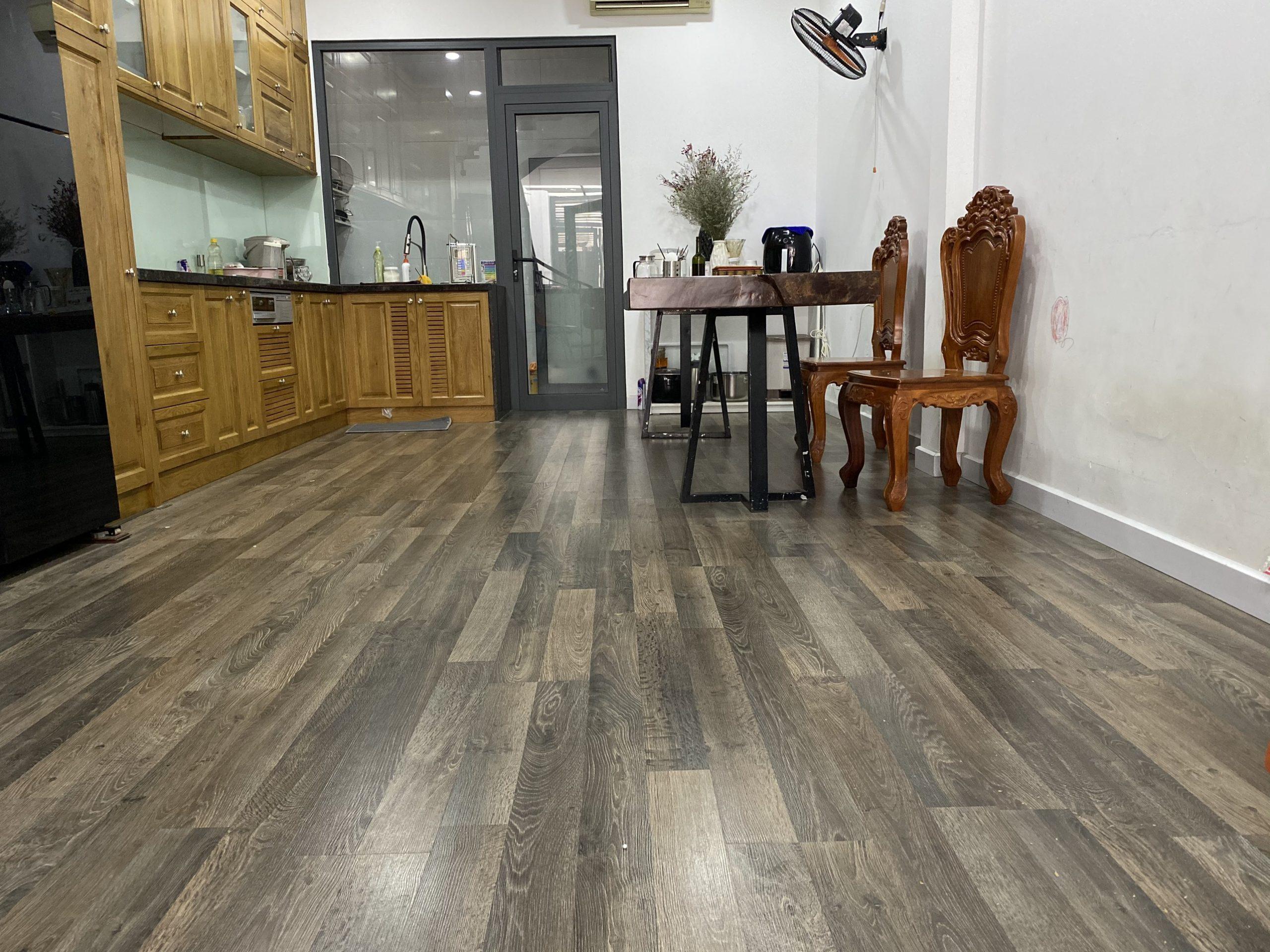 Nâng cấp sàn gỗ công nghiệp cho nhà ở