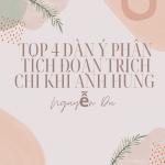 Top 4 dàn ý phân tích đoạn trích chí khí anh hùng của Nguyễn Du